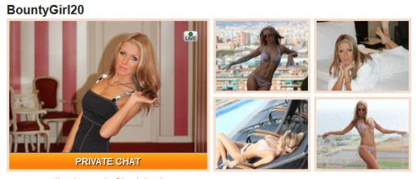 BountyGirl20 live on sex cam